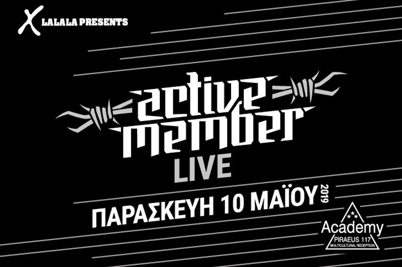 ACTIVE MEMBER | 10.05.19