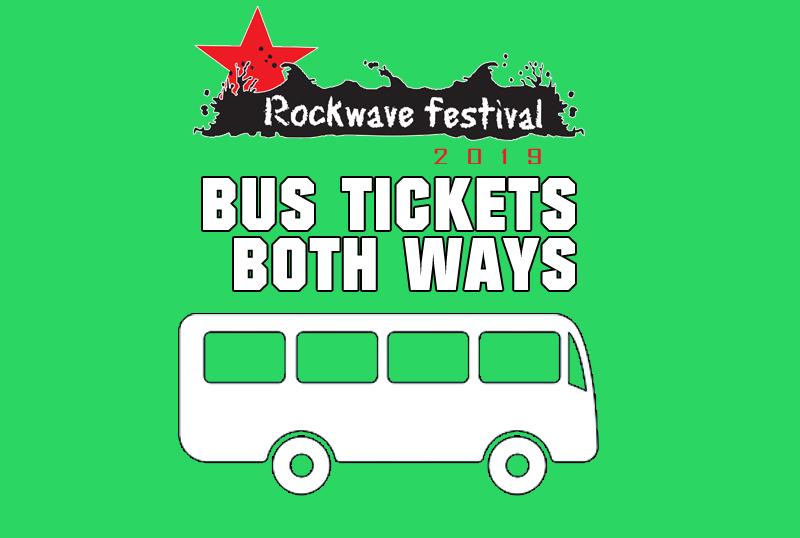 ROCKWAVE BUS TICKET | BOTH WAYS