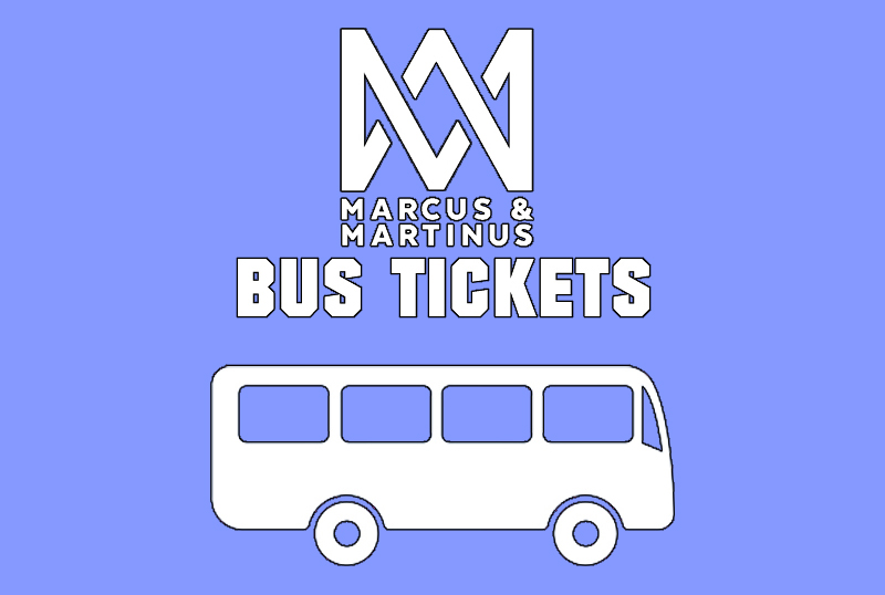 MARCUS & MARTINUS BUS TICKET | ONE WAY