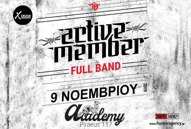 ACTIVE MEMBER | FULL BAND