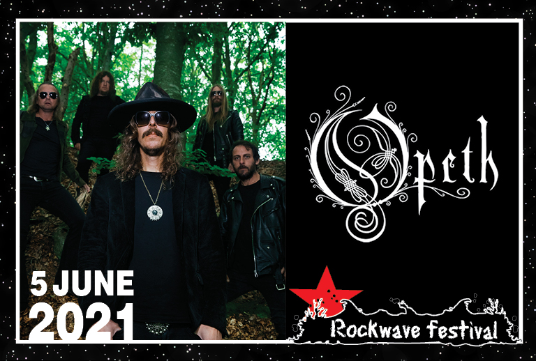 ROCKWAVE FESTIVAL 2021 | OPETH + MORE T.B.A.