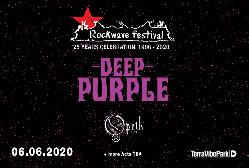 ROCKWAVE FESTIVAL 2020 | DEEP PURPLE + OPETH + MORE T.B.A.