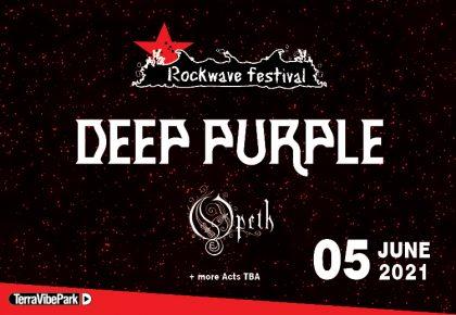 ROCKWAVE FESTIVAL 2021 | DEEP PURPLE + OPETH + MORE T.B.A.