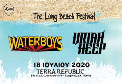 LONG BEACH FESTIVAL | THE WATERBOYS – URIAH HEEP