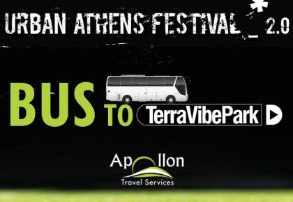 URBAN ATHENS FESTIVAL 2.0 | BUS TICKETS