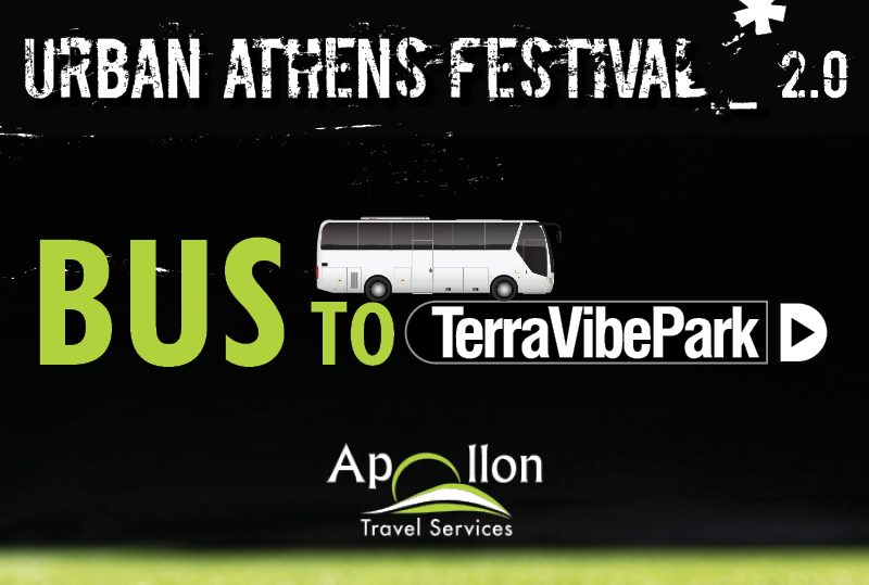URBAN ATHENS FESTIVAL 2.0 | BUS TICKETS