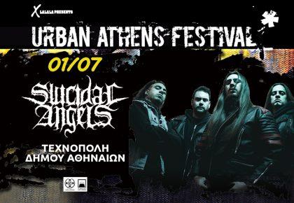 Urban Athens Festival | Suicidal Angels